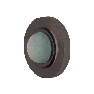 CRL DL2511DU Bronze Wall Mounted Convex Type Door Stop