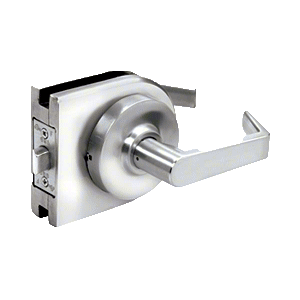Polished Stainless Grade 1 Lever Lock Housing - Passage