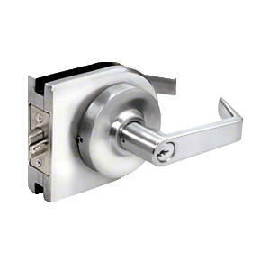 Polished Stainless Grade 2 Lever Lock Housing - Entrance