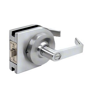 Satin Anodized Grade 1 Lever Lock Housing - Privacy