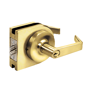 Polished Brass Grade 1 Lever Lock Housing - Storeroom