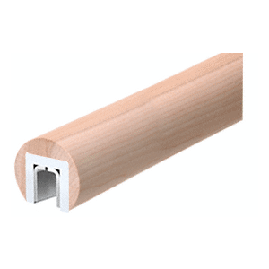"Poplar 346 Series 2"" Wood Cap Rail"
