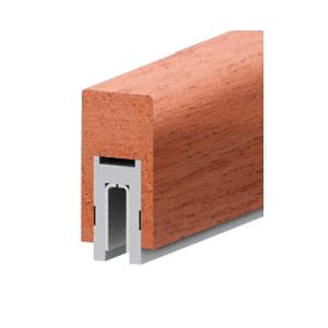 """631 Mahogany Finish Series 2-1/2"""" x 4"""" (63.5 x 102 mm) Wood Cap Railing 120"""" (3.05 m) Lengths Wood Cap Railing"""
