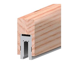 """CRL Blumcraft 631W0 631 White Oak Finish Series 2-1/2"""" x 4"""" (63.5 x 102 mm) Wood Cap Railing 120"""" (3.05 m) Lengths Wood Cap Railing"""