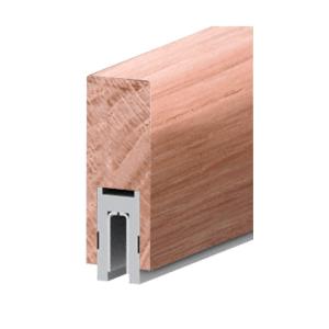"""Ash Finish 632 Series 2-1/2"""" x 6"""" (63.5 x 152 mm) Wood Cap Railing 120"""" (3.05 m) Lengths Wood Cap Railings"""