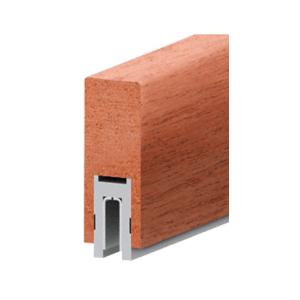 "Mahogany Finish 632 Series 2-1/2"" x 6"" (63.5 x 152 mm) Wood Cap Railing 120"" (3.05 m) Lengths Wood Cap Railings"