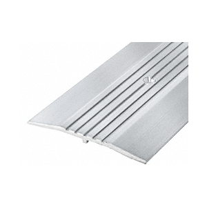 "CRL 38A72 4"" Aluminum Commercial Saddle Threshold - 73"" Length"
