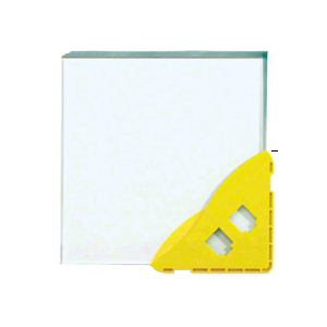 "5/8"" Yellow Armored Corner Protector"
