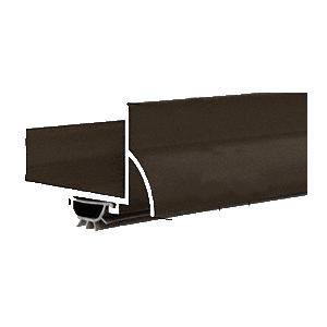 """31-3/4"""" Dark Bronze Anodized U-Shape Door Bottom"""