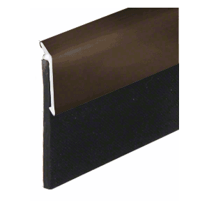 Dark Bronze Anodized Heavy-Duty Door Sweep - 36""