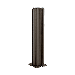 "Duranodic Bronze 14"" 3-Way Design Series Partition Post"