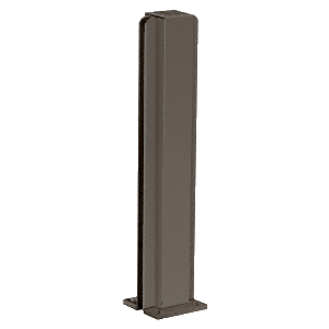 "Duranodic Bronze 16"" Center Design Series Partition Post"