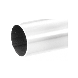 "Polished Stainless 2"" Diameter Round .050"" Tubing - 98"""