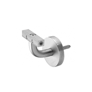 Imperial Series Brushed Stainless Wall Mounted Hand Rail Bracket