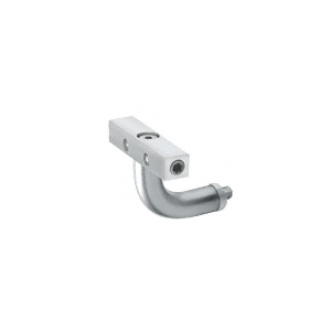 Imperial Series Mill Aluminum Post Mounted Hand Rail Bracket