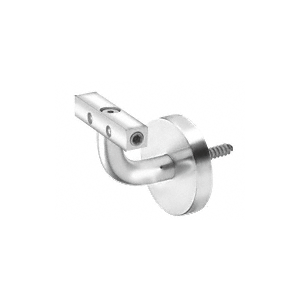 Imperial Series Polished Stainless Wall Mounted Hand Rail Bracket
