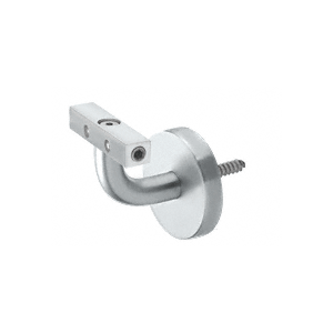 Imperial Series Mill Aluminum Wall Mounted Hand Rail Bracket