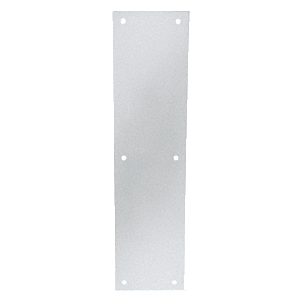 """Clear Anodized Push Plates 4"""" x 16"""""""