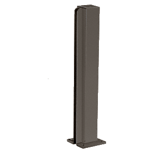 "Duranodic Bronze 16"" End Design Series Partition Post"