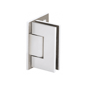 Adjustable Polished Chrome Wall Mount Offset Back Plate