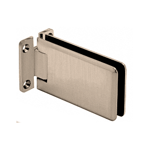 Brushed Nickel Adjustable Standard Wall Mount Grande Series Hinge