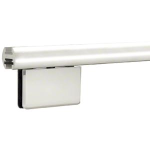 """CRL EHK144BAEXT Brite Anodized 144"""" EZ-Adjust Shower Door Header Only"""