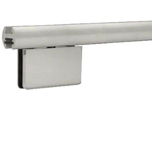 "CRL EHK98ABEXT Brushed Anodized 95"" EZ-Adjust Shower Door Header Only"