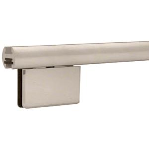 """CRL EHK98BNEXT Brushed Nickel 95"""" EZ-Adjust Shower Door Header Only"""
