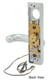 Jackson 9500EL01628 Electric Outside Lever Trim with Round Style Lever Aluminum Finish 24 Volt DC for Use with Jackson Rim Latch Panics Model 1295 and 2095