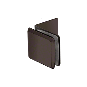 Oil Rubbed Bronze Fixed Panel Beveled Clamp With Large Leg