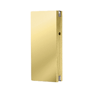 Polished Brass Glass Keeper for DE4102 Series Center Locks