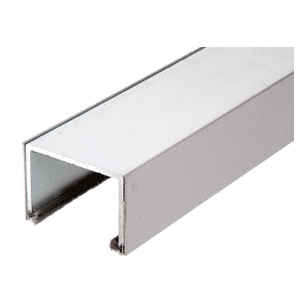 CRL SD1TTBS Brushed Stainless Steel Sliding Door Top Rolling Track