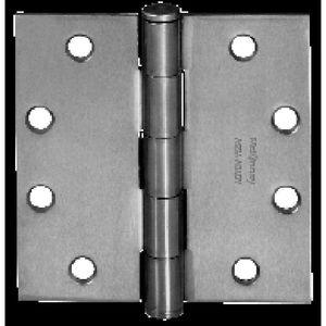 "McKinney T2714312P 3-1/2"" x 3-1/2"" Square Corner Standard Weight Five Knuckle Hinge # 55315 Prime Coat Finish"