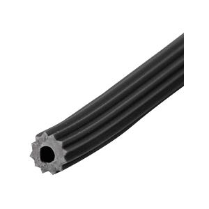 Black .240 Screen Retainer Spline - 500 Foot Roll