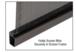CRL 5CBL240 Black .240 Screen Retainer Spline - 500 Foot Roll
