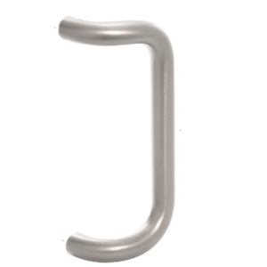 "CRL-U.S. Aluminum PR0321112 Clear Anodized 12"" Centerline to Centerline Astral Pull Handle"