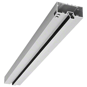 """Clear Anodized 1-3/4"""" x 4"""" 400 Series Right Hand Prepped Door Header"""