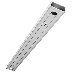 """Clear Anodized 72"""" 1-3/4"""" x 4-1/2"""" 450 Series Prepped Header for Center Hung Overhead Concealed Closers"""