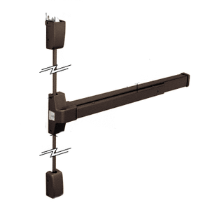 Dark Bronze DL750SV Surface Vertical Rod Panic Exit Device