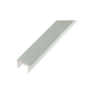 "CRL PF48AGY Agate Gray 48"" Glass Barrier Post Filler"