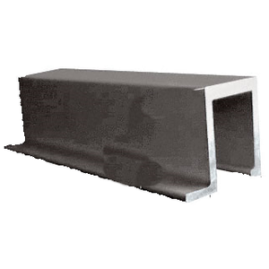 "CRL 74SSBRZ Bronze 74"" Retractable Screen Door Square Sill adaptor"