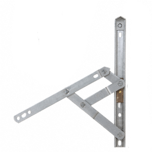 "CRL WH61642 16"" 4-Bar Heavy-Duty Stainless Steel Project-Out Hinge"