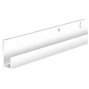 Order Standard Aluminum J-Channel for Bottom in Mirror Installations