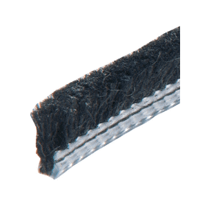 """.312"""" Adjustable Astragal Replacement Pile Weatherstrip - 100' Roll"""