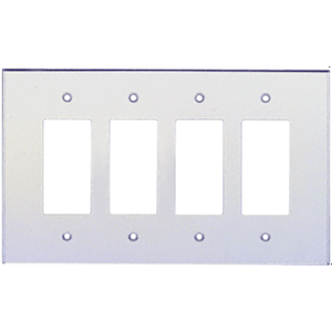 CRL PMP402 Clear Quad Designer Acrylic Mirror Plate