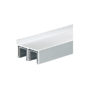 Satin Anodized Dust Proof Double Framing Channel with Plastic Insert