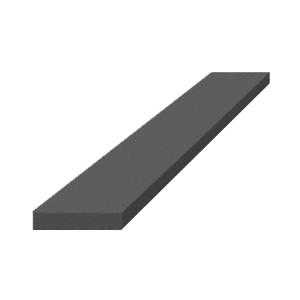 "CRL SBEP4 1/4"" x 1-1/8"" x 4"" EPDM Rubber Setting Blocks"