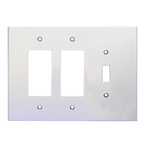 Clear Double Designer Switch Acrylic Mirror Plate