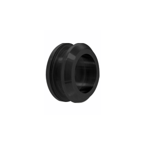 CRL FP214MBL Matte Black Laguna Series Thru-Glass Pull