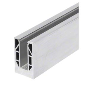 "CRL 8B10D 8B Series Mill Aluminum 120"" Square Base Shoe Drilled"